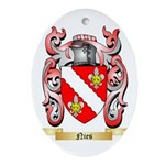 Nies Oval Ornament