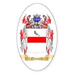 Niemuth Sticker (Oval 50 pk)