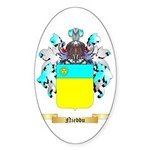 Nieddu Sticker (Oval)