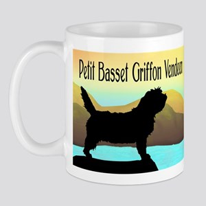 Petit Basset By The Sea Mug