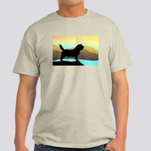 Petit Basset By The Sea Light T-Shirt