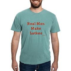 Real Men Make Latkes Chanukah T-Shirt