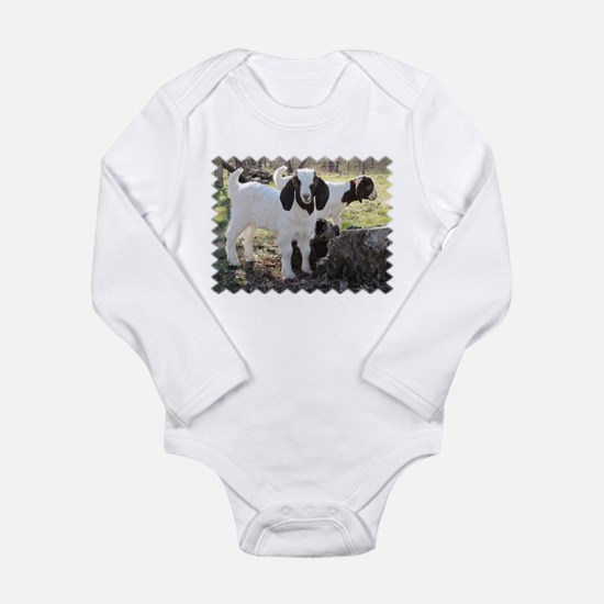 Twin goats Body Suit