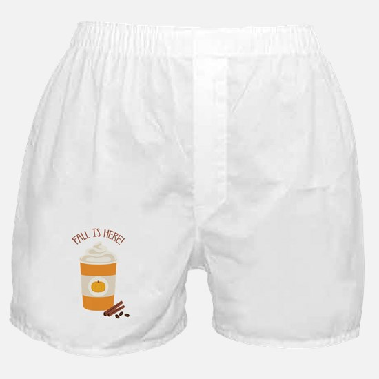 Fall Is Here Boxer Shorts
