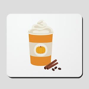 Pumpkin Spice Latte Mousepad