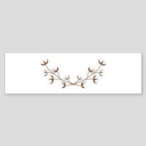 Cotton Branches Bumper Sticker