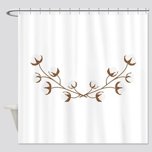 Cotton Branches Shower Curtain