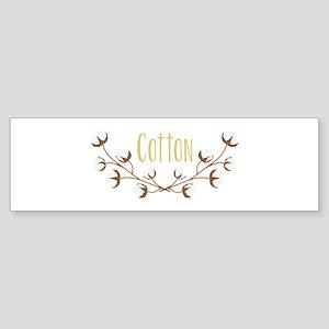 Cotton Limbs Bumper Sticker