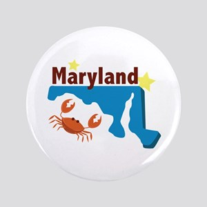 State Of Maryland Button