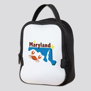 State Of Maryland Neoprene Lunch Bag