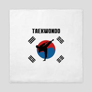 Taekwondo Queen Duvet