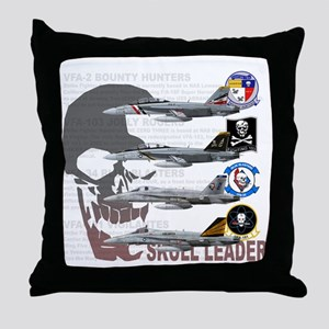 Skull Special Throw Pillow
