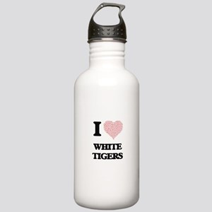 I love White Tigers (H Stainless Water Bottle 1.0L