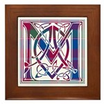 Monogram - MacDonald of Glenaladale Framed Tile