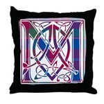 Monogram - MacDonald of Glenaladale Throw Pillow