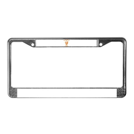 Biewer License Plate Frame