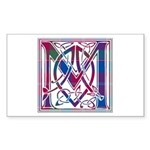 Monogram - MacDonald of Glenaladale Sticker (Recta