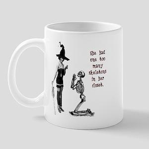 Skeletons in her Closet Mug
