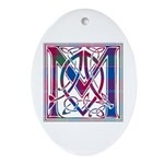 Monogram - MacDonald of Glenaladale Ornament (Oval