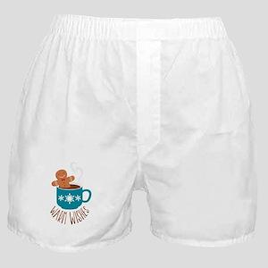 Warm Wishes Boxer Shorts