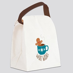 Warm Wishes Canvas Lunch Bag