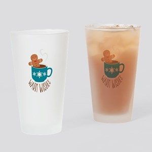 Warm Wishes Drinking Glass