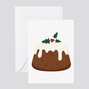 Holiday Cake  Greeting Cards