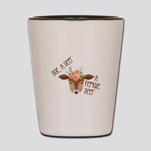 Doe A Deer Shot Glass
