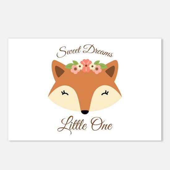 Sweet Dreams Fox Postcards (Package of 8)