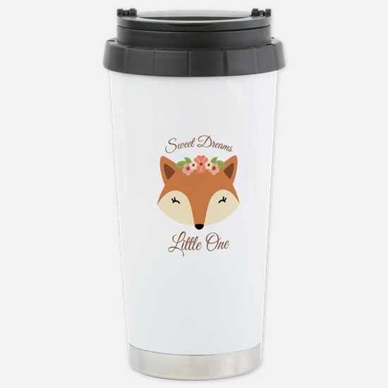 Sweet Dreams Fox Travel Mug