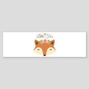 Little Fox Bumper Sticker