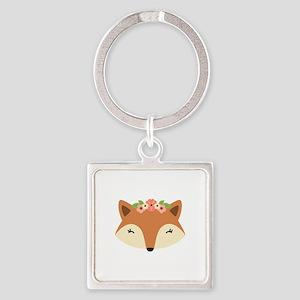 Fox Head Keychains
