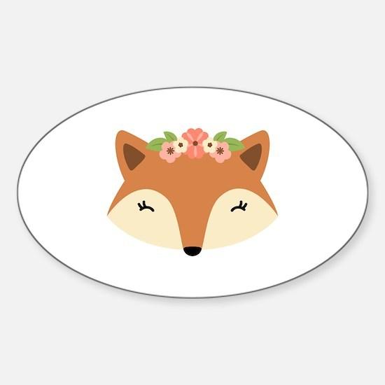 Fox Head Decal