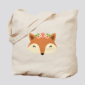 Fox Head Tote Bag