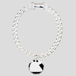 arabic alphabet T Charm Bracelet, One Charm