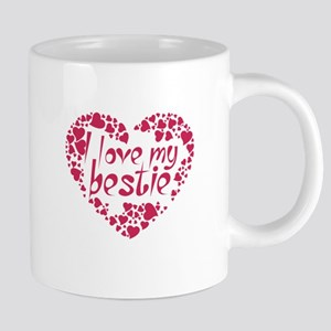 I LOVE MY BESTIE COUPLES DESIGN Mugs
