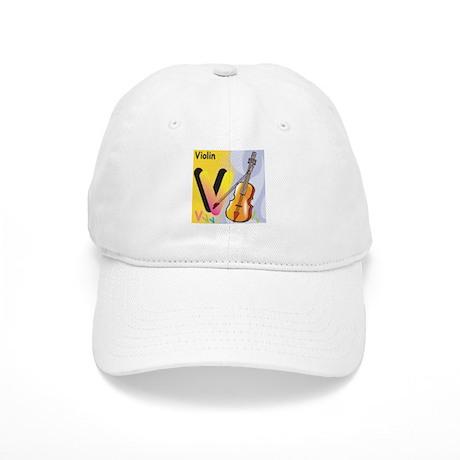 V for Violin Cap