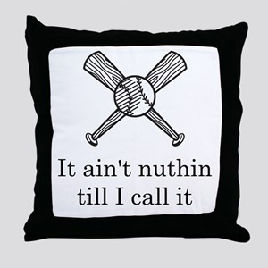 Baseball Umpire Throw Pillow