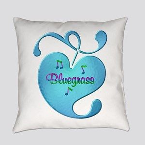 Bluegrass Love Everyday Pillow