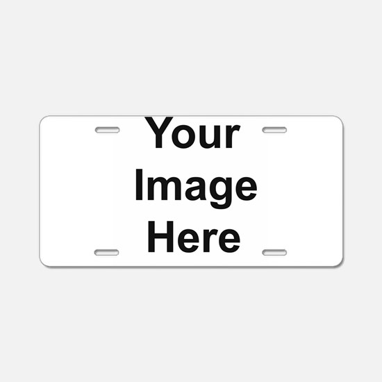 Personalizable Aluminum License Plate