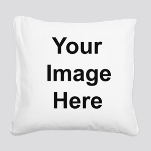 Personalizable Square Canvas Pillow