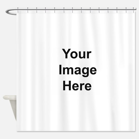 Personalizable Shower Curtain