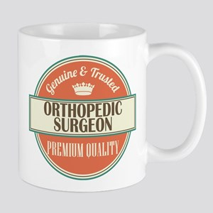 orthopedic surgeon vintage logo Mug