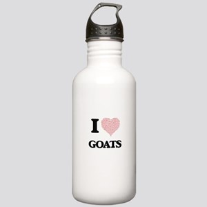I love Goats (Heart Ma Stainless Water Bottle 1.0L