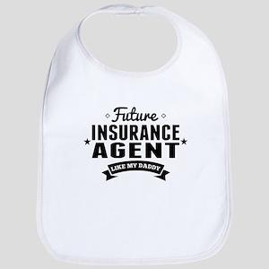 Future Insurance Agent Like My Daddy Bib