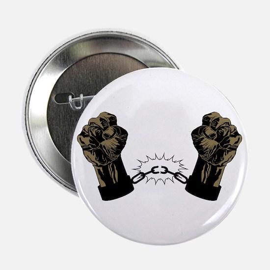 Black Fists Button