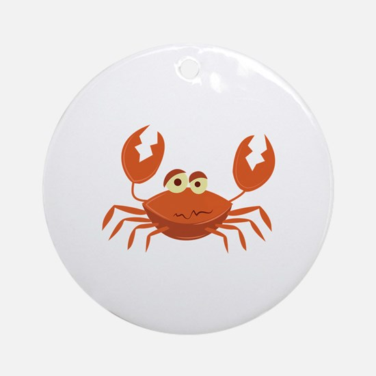 Crab Round Ornament