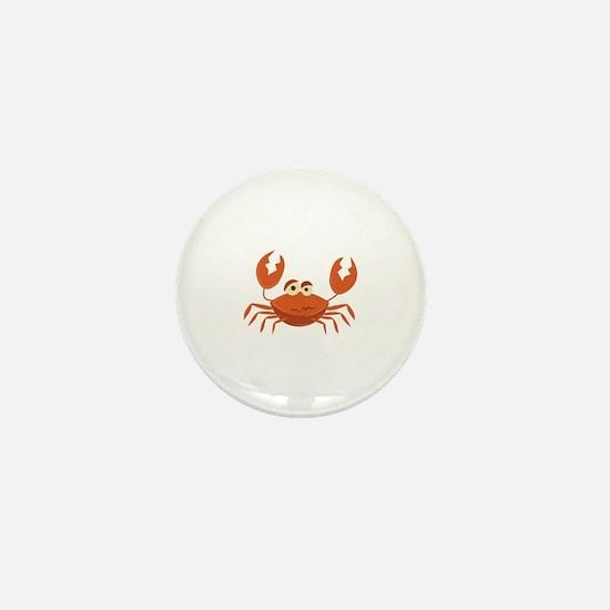 Crab Mini Button