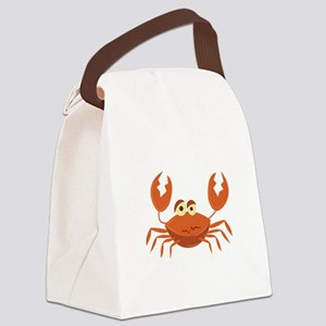 Crab Canvas Lunch Bag
