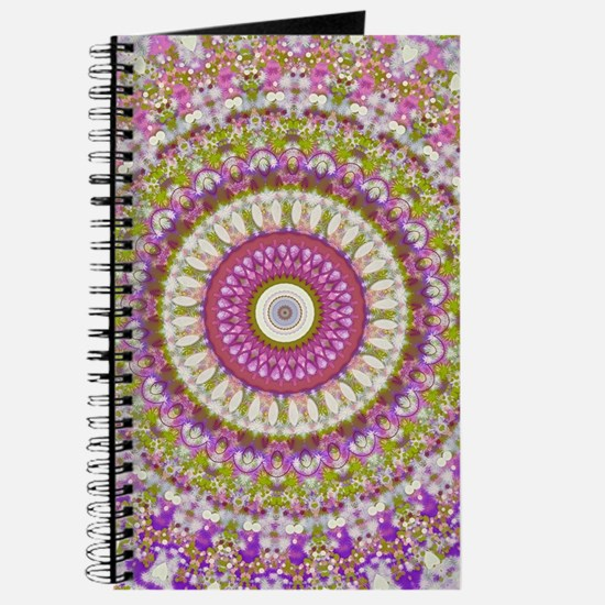 Pretty Hippy pink mandala Journal